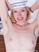 Nude hairy Lacey