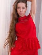 Hairy brunette Ryisya